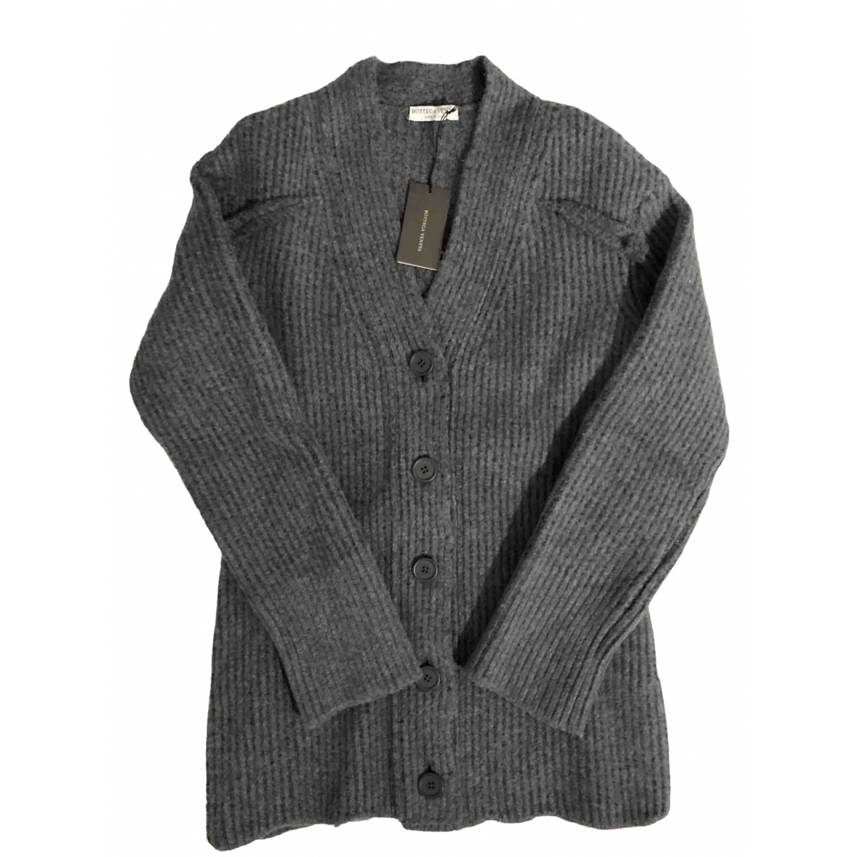 Bottega Veneta \N Grey Wool Knitwear for Women 38 IT