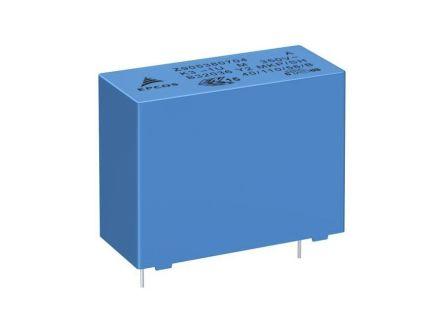 EPCOS 270nF Polypropylene Capacitor PP 350V ac ±20% Tolerance Through Hole B32033 Series (260)