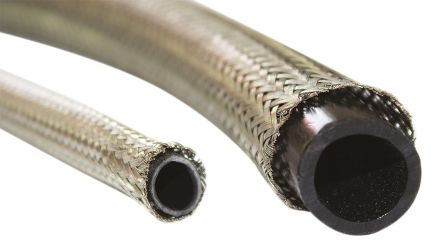 HellermannTyton Braided Tinned Copper Cable Sleeve, 7.5mm Diameter, 10m Length, HEGTB575 Series (10)