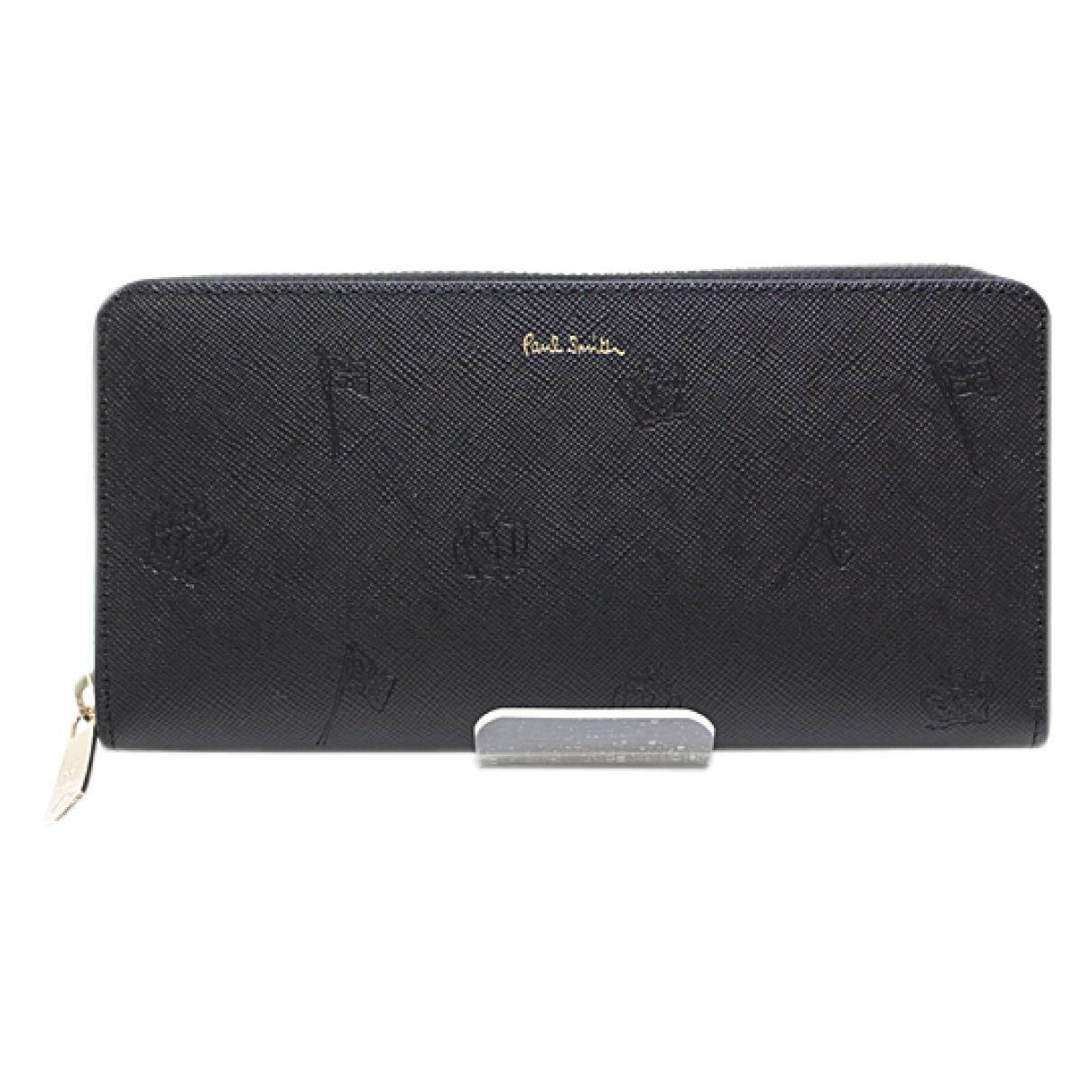 Paul Smith \N Black Leather wallet for Women \N