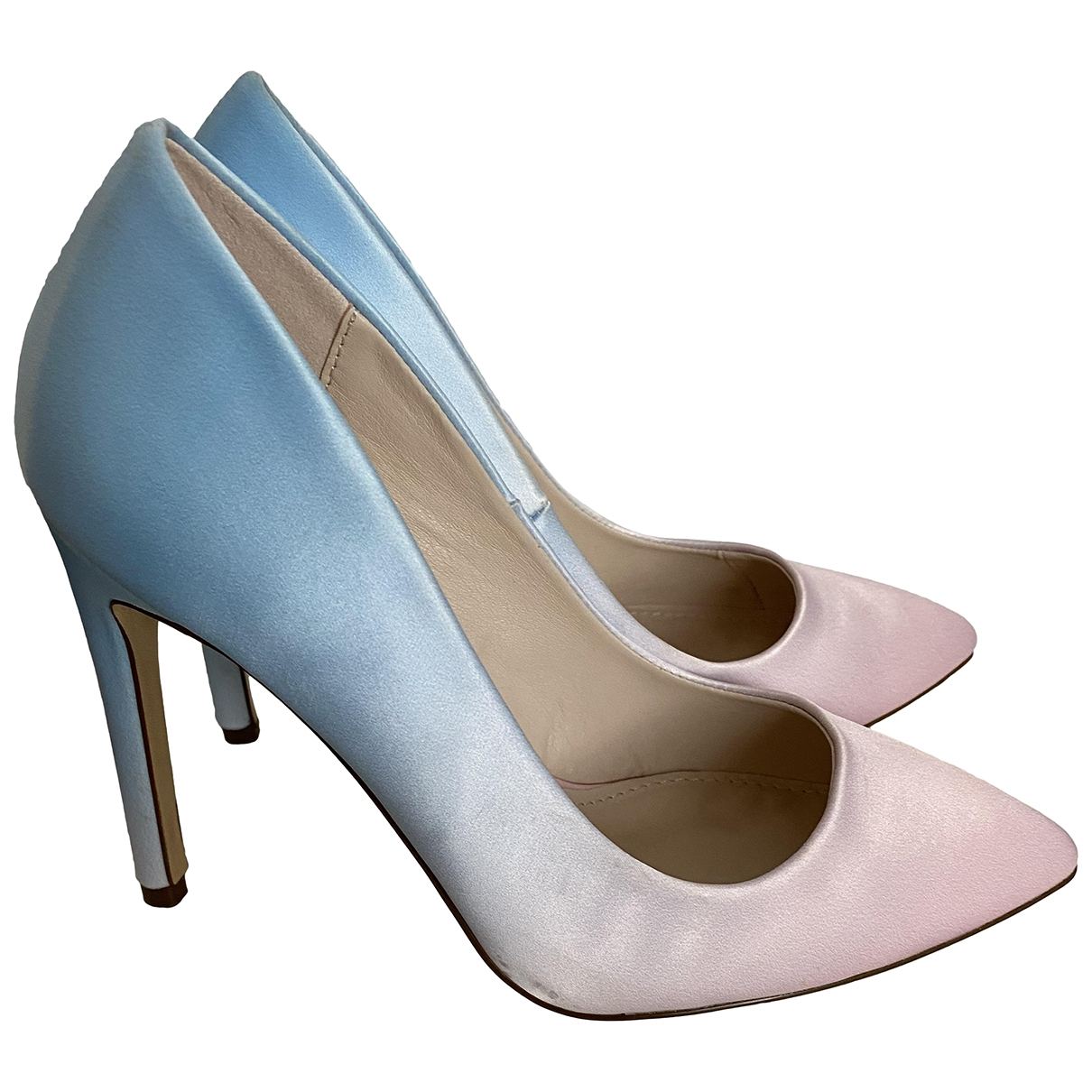 Non Signé / Unsigned \N Cloth Heels for Women 37 EU