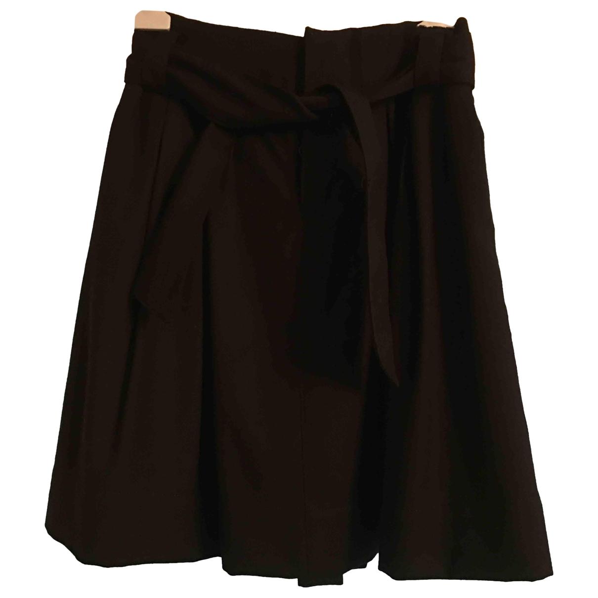 Zara \N Rocke in  Schwarz Wolle