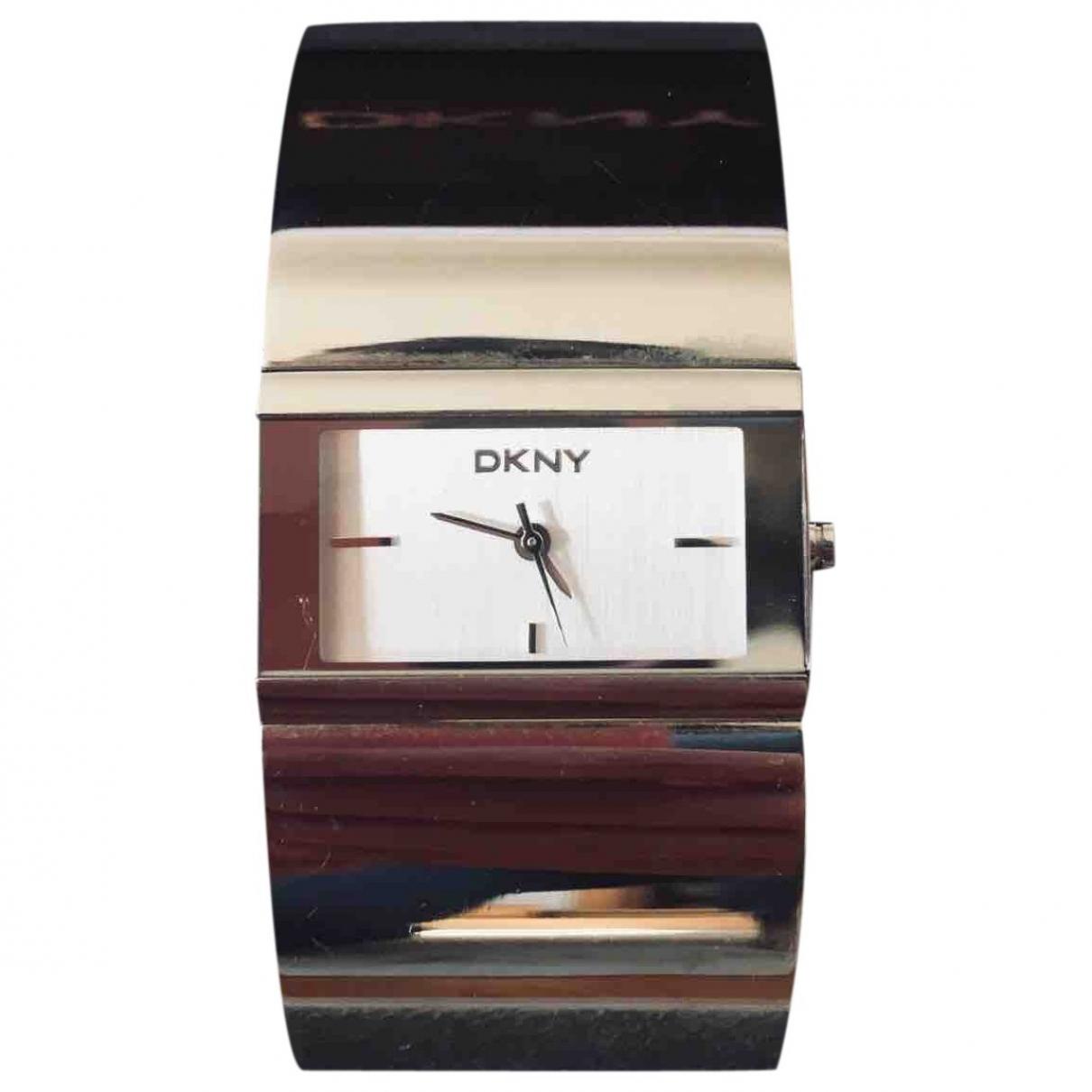 Dkny \N Silver Steel watch for Women \N