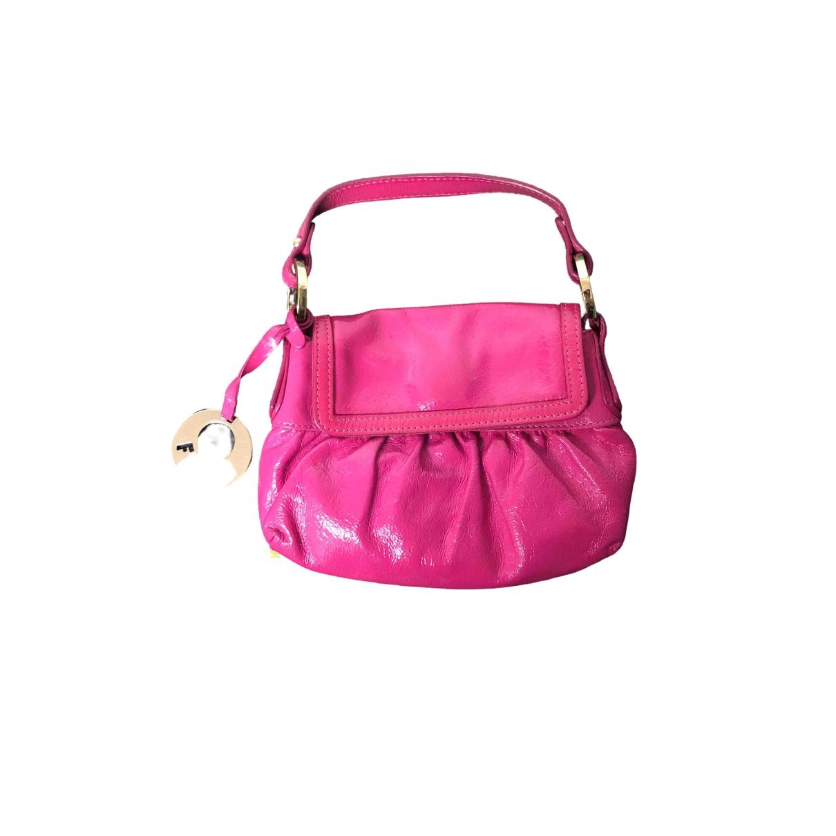 Fendi Chef  Pink Patent leather handbag for Women \N