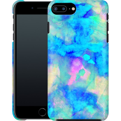 Apple iPhone 8 Plus Smartphone Huelle - Electrify Ice Blue von Amy Sia