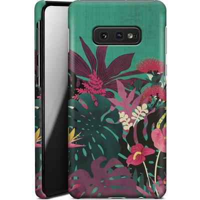 Samsung Galaxy S10e Smartphone Huelle - Tropical Tendencies von Little Clyde
