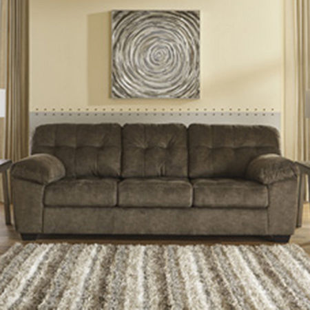 Signature Design by Ashley Accrington Sofa, One Size , Brown