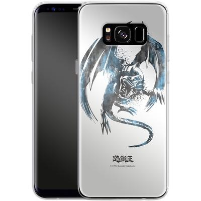 Samsung Galaxy S8 Silikon Handyhuelle - Blue-Eyes White Dragon von Yu-Gi-Oh!