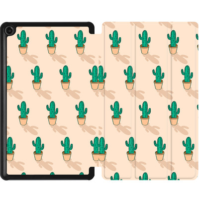 Amazon Fire 7 (2017) Tablet Smart Case - Cactus Pot von caseable Designs
