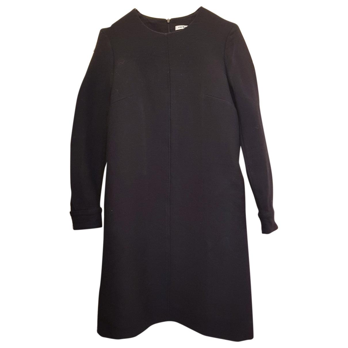 Cacharel \N Kleid in  Schwarz Wolle