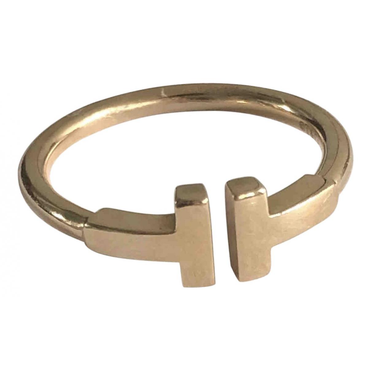 Tiffany & Co Tiffany T Ring in  Gold Rosegold