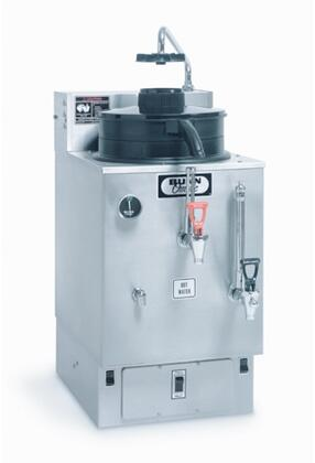 06325.0002 SRU 120/240V 3 Gal(11.4L) Automatic Electric Coffee Urn with Large Water Tank  Half-batch Option  in Stainless