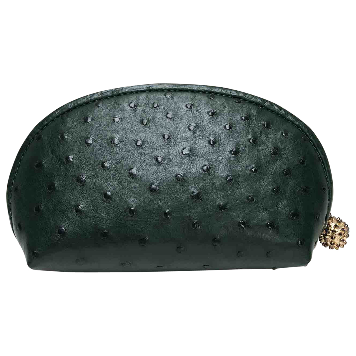 Ethan K \N Green Ostrich Purses, wallet & cases for Women \N