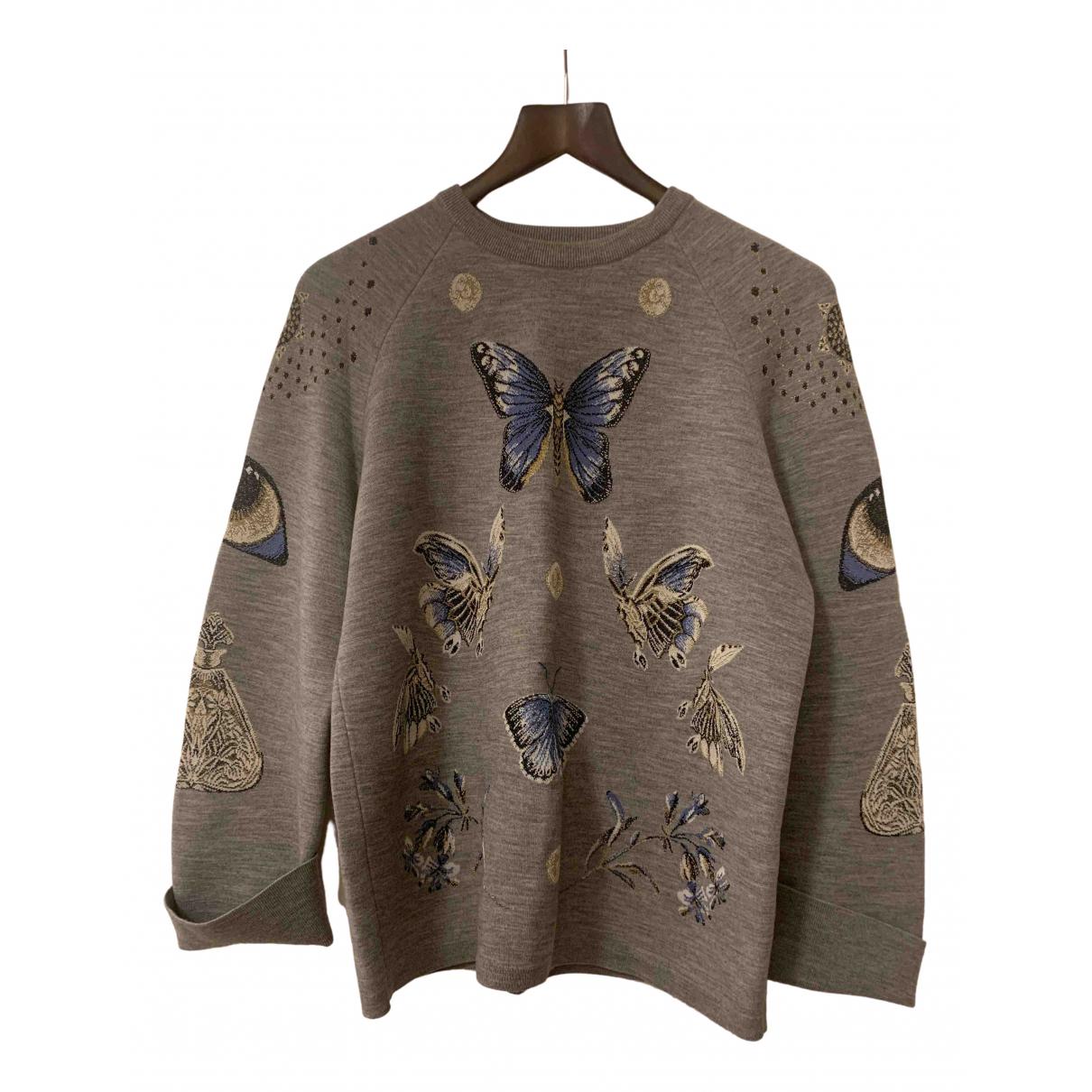 Alexander Mcqueen N Grey Cotton Knitwear for Women XS International