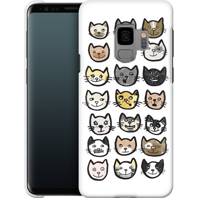 Samsung Galaxy S9 Smartphone Huelle - 28 Cats von caseable Designs