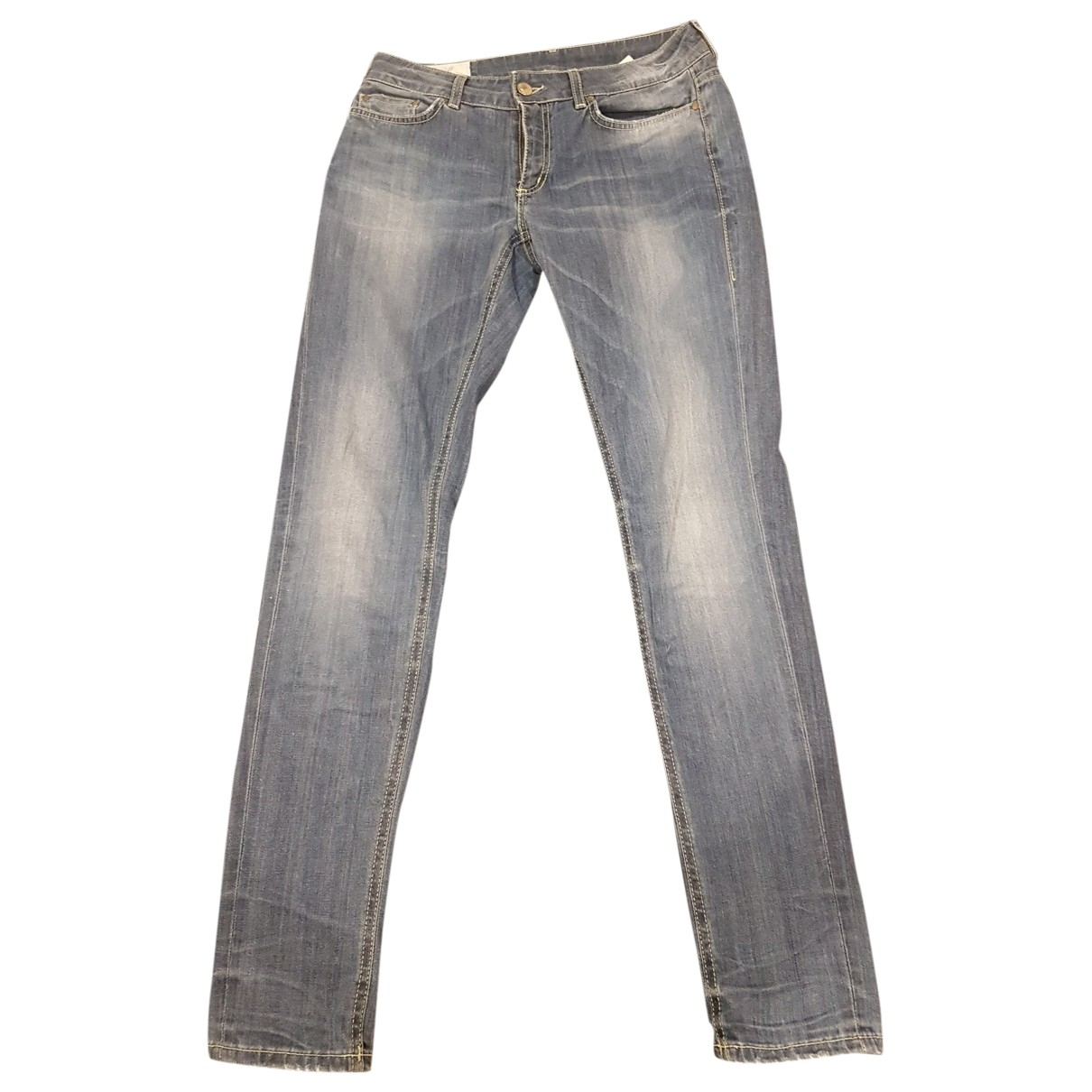 Dondup \N Blue Cotton Jeans for Women 32 US