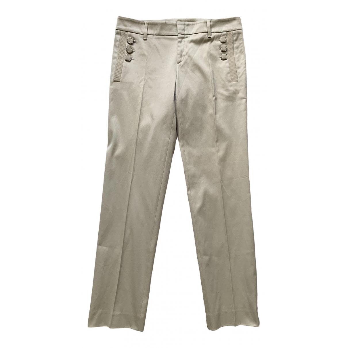 Gucci - Pantalon   pour femme en coton - ecru