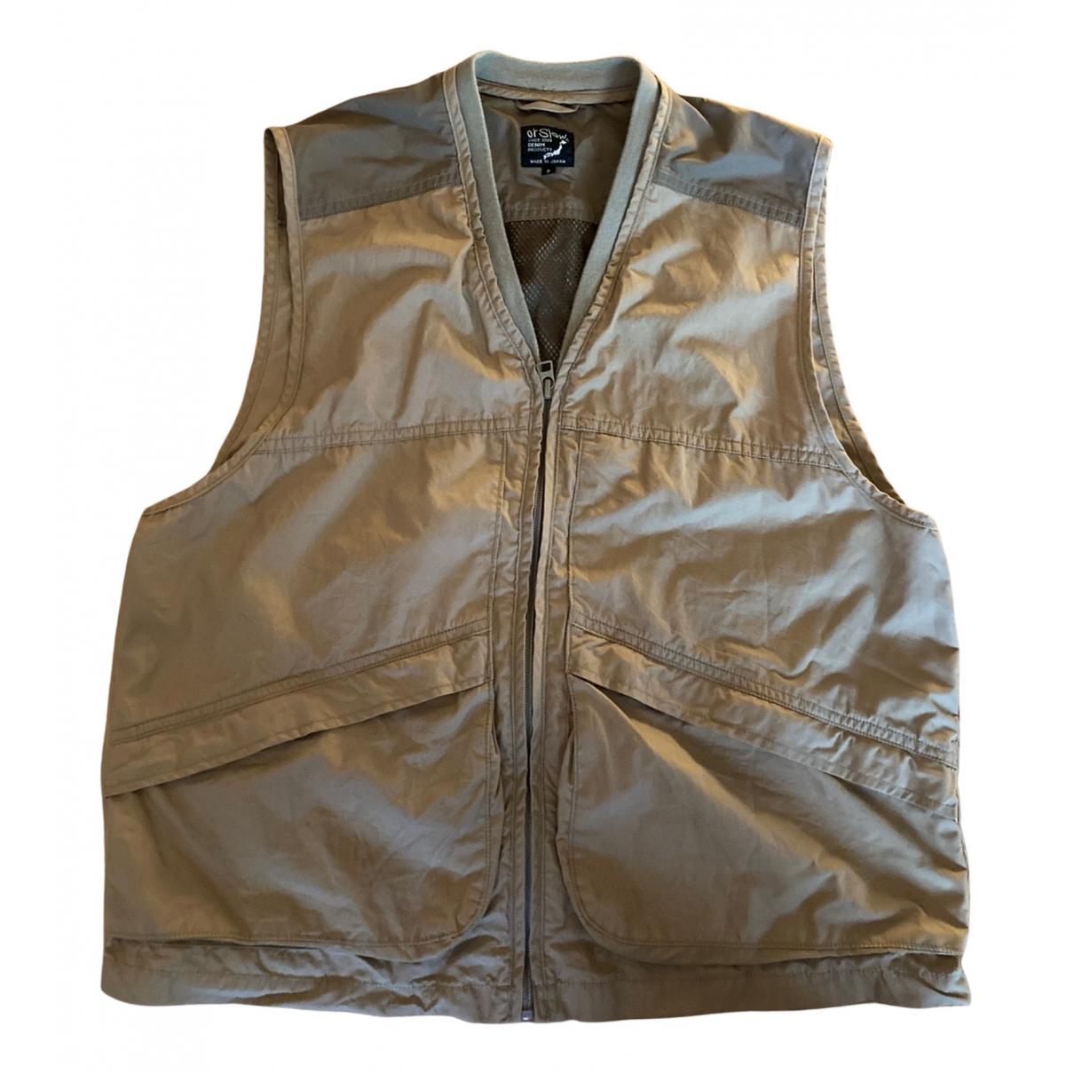 Orslow - Vestes.Blousons   pour homme en coton - beige