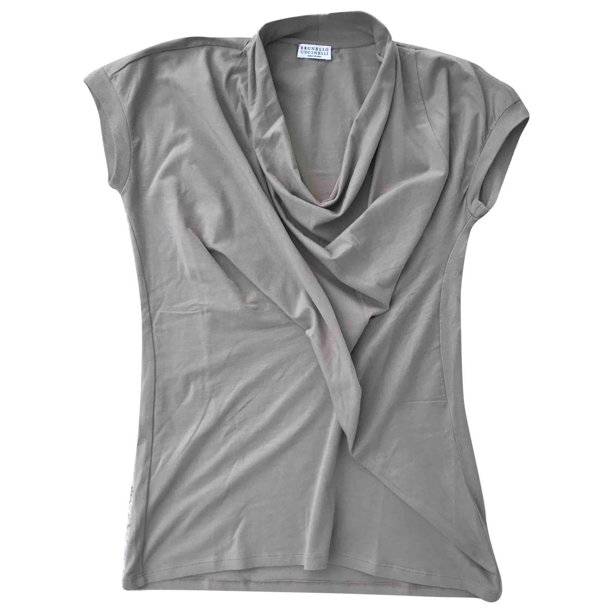 Brunello Cucinelli - Top   pour femme en coton