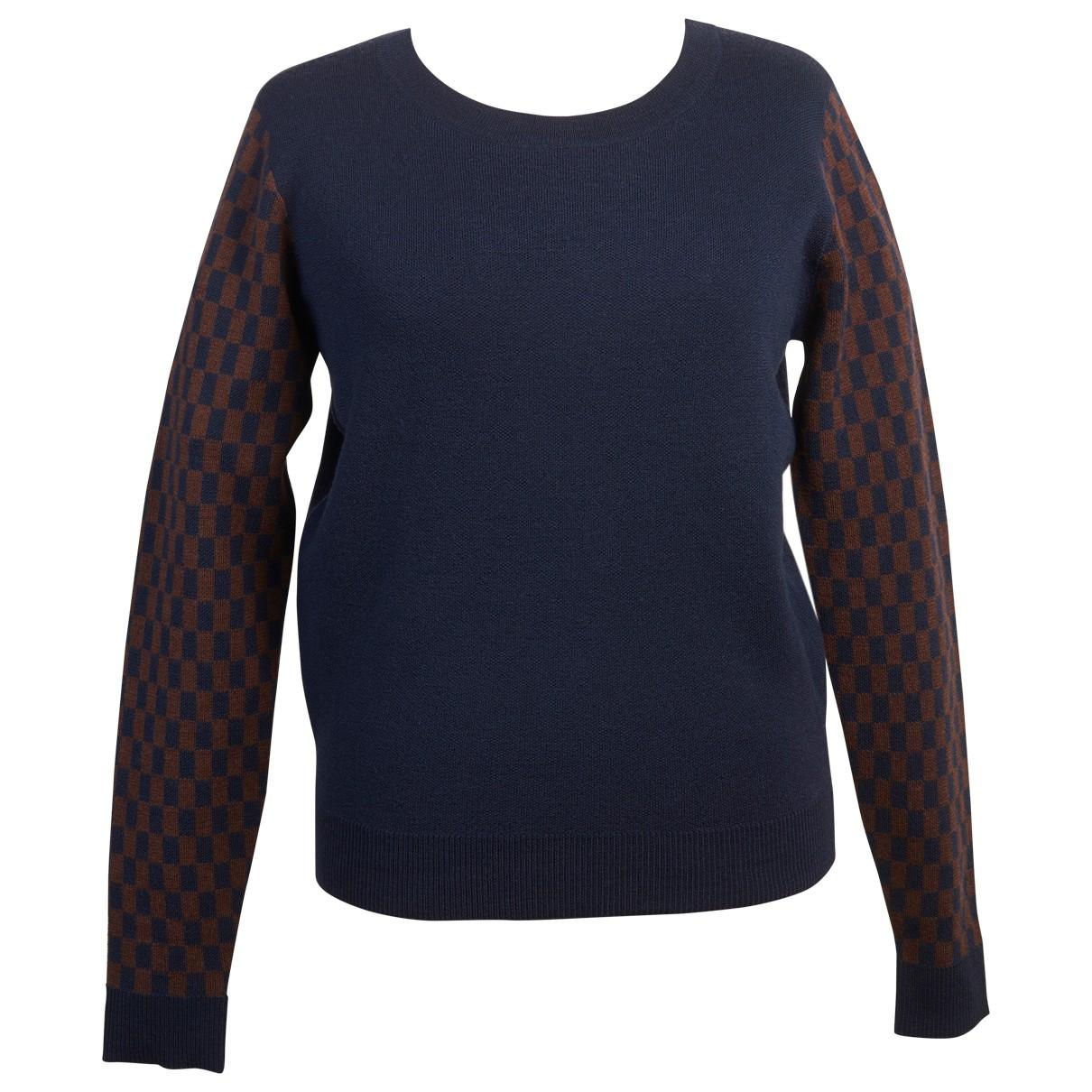 Rue Blanche \N Navy Wool Knitwear for Women S International