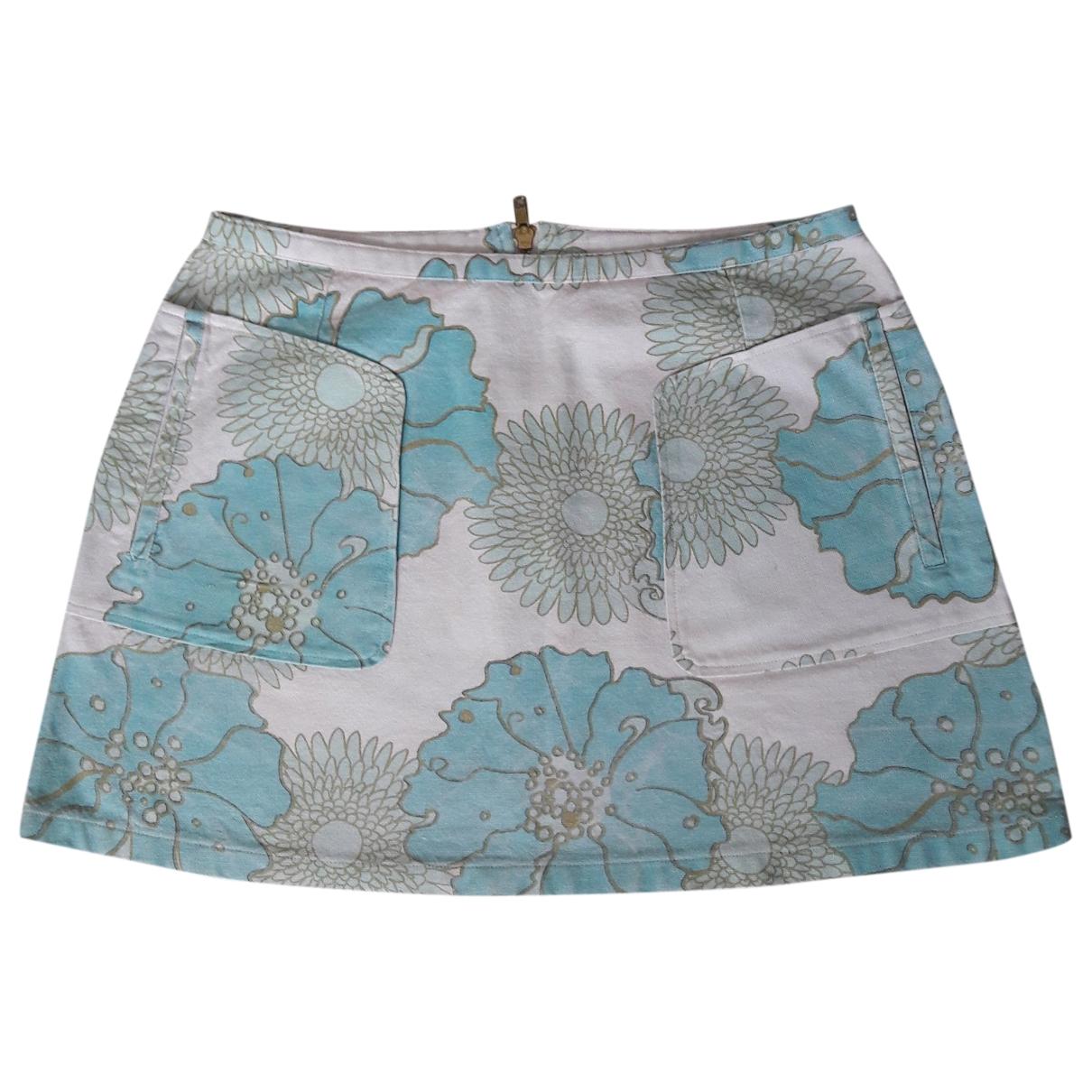 tophop \N White Cotton skirt for Women 12 UK