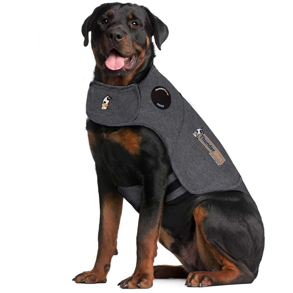 ThunderShirt Dog Anxiety Solution - Heather Gray (XXLARGE)