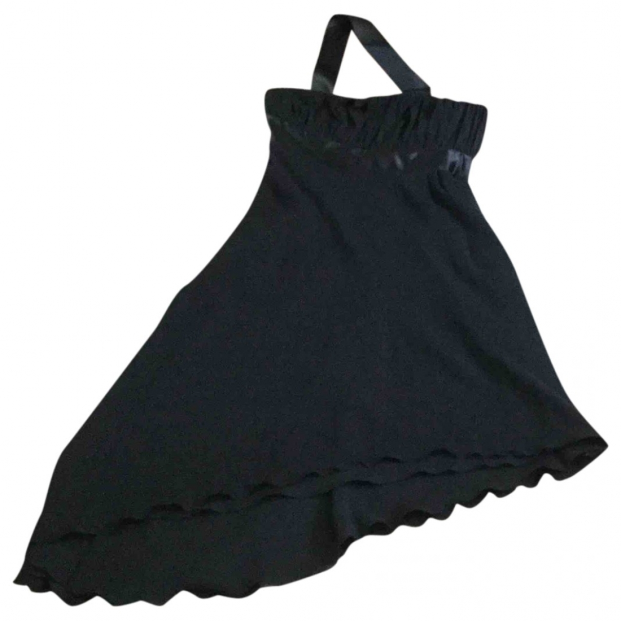 Armani Collezioni - Robe   pour femme en soie - noir