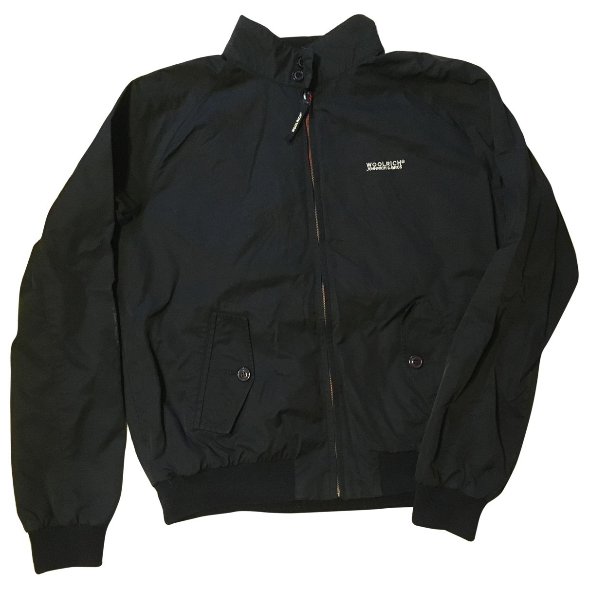 Woolrich \N Navy Cotton jacket  for Men XL International