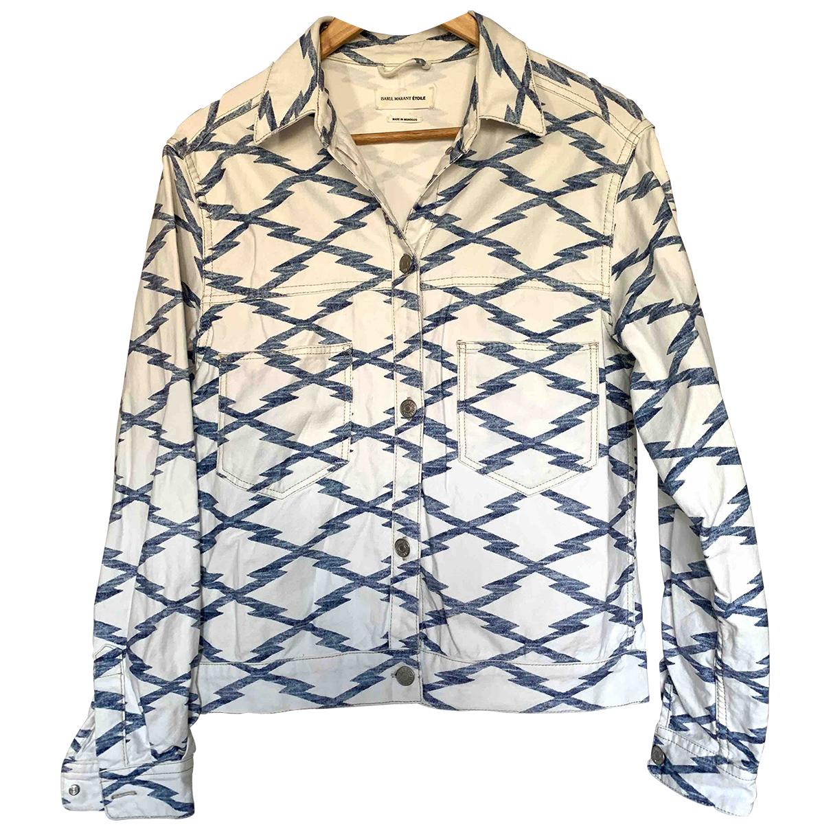 Isabel Marant Etoile \N White Cotton jacket for Women 38 FR