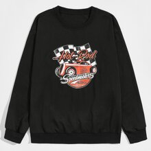 Guys Car Graphic Sweatshirt