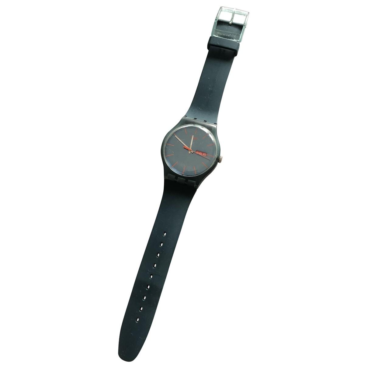 Swatch \N Uhr Blau