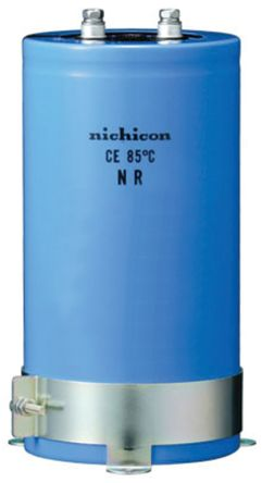 Nichicon 3300μF Electrolytic Capacitor 200V dc, Screw Mount - LNR2D332MSE