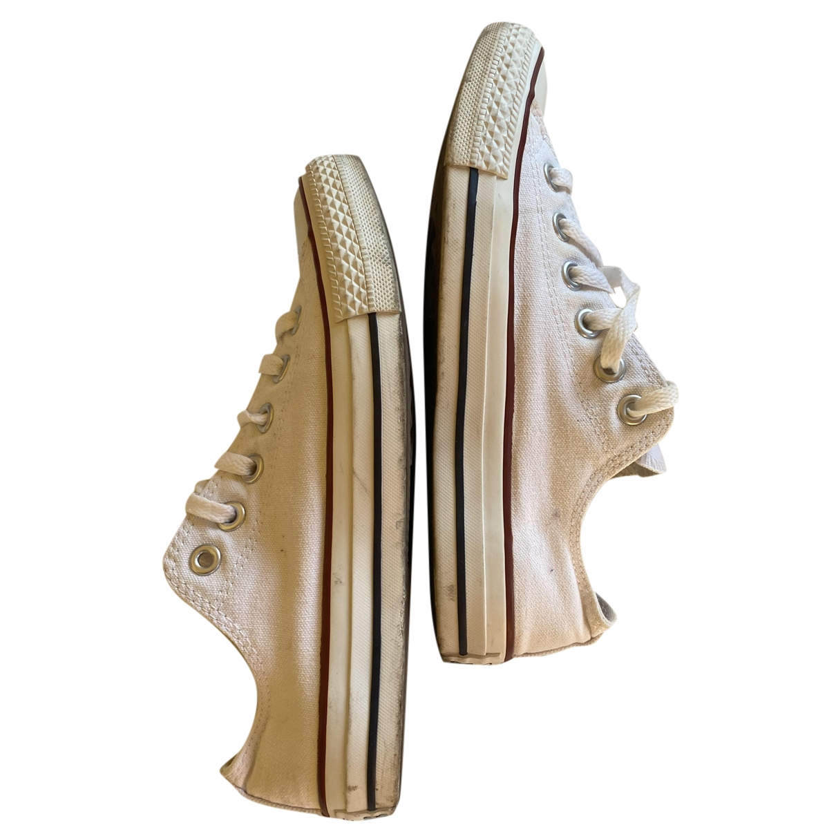 Converse \N Sneakers in  Weiss Leinen