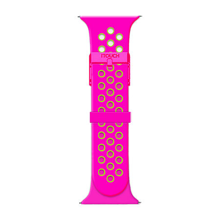 Itouch Sport Womens Two Tone Watch Band-Itspstrpef-Q21, One Size , No Color Family