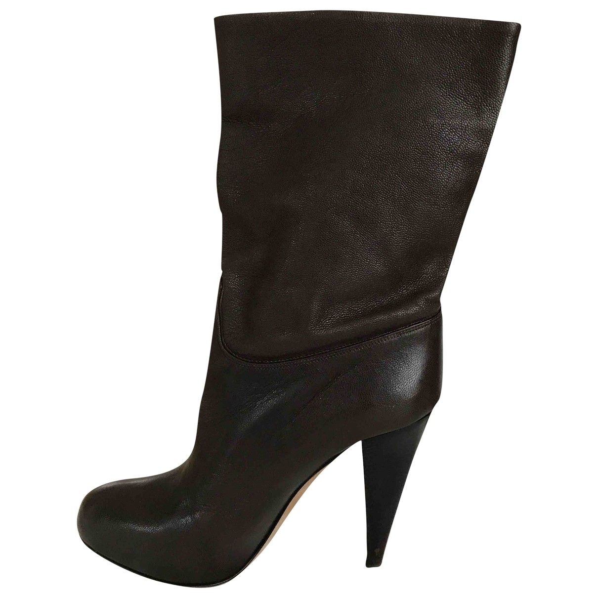 Bally \N Brown Leather Boots for Women 39 EU