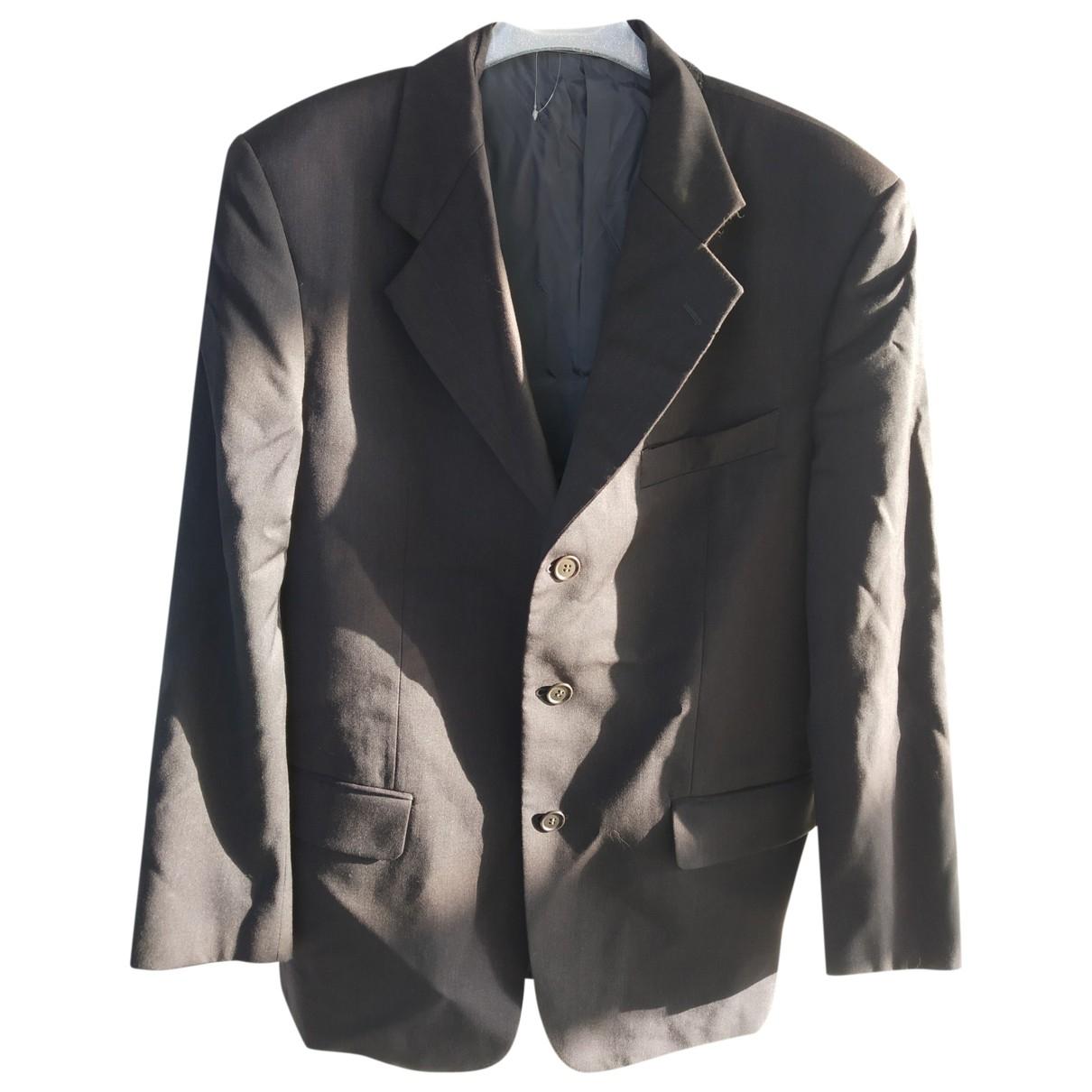 Valentino Garavani \N Grey Wool jacket  for Men 50 IT