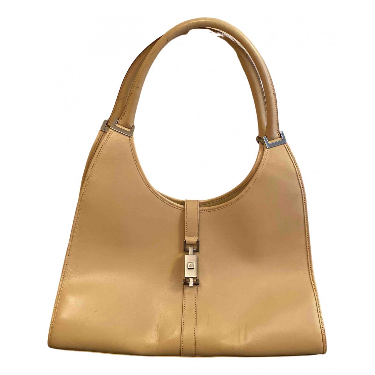 Gucci Jackie Vintage  Beige Leather handbag for Women \N