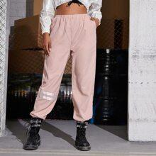 Striped Tape Sweatpants
