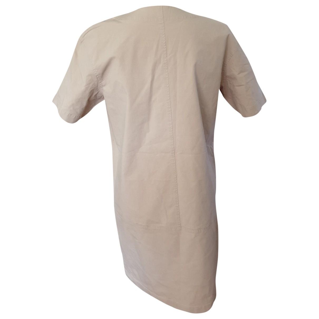 Gerard Darel - Robe   pour femme en coton - beige