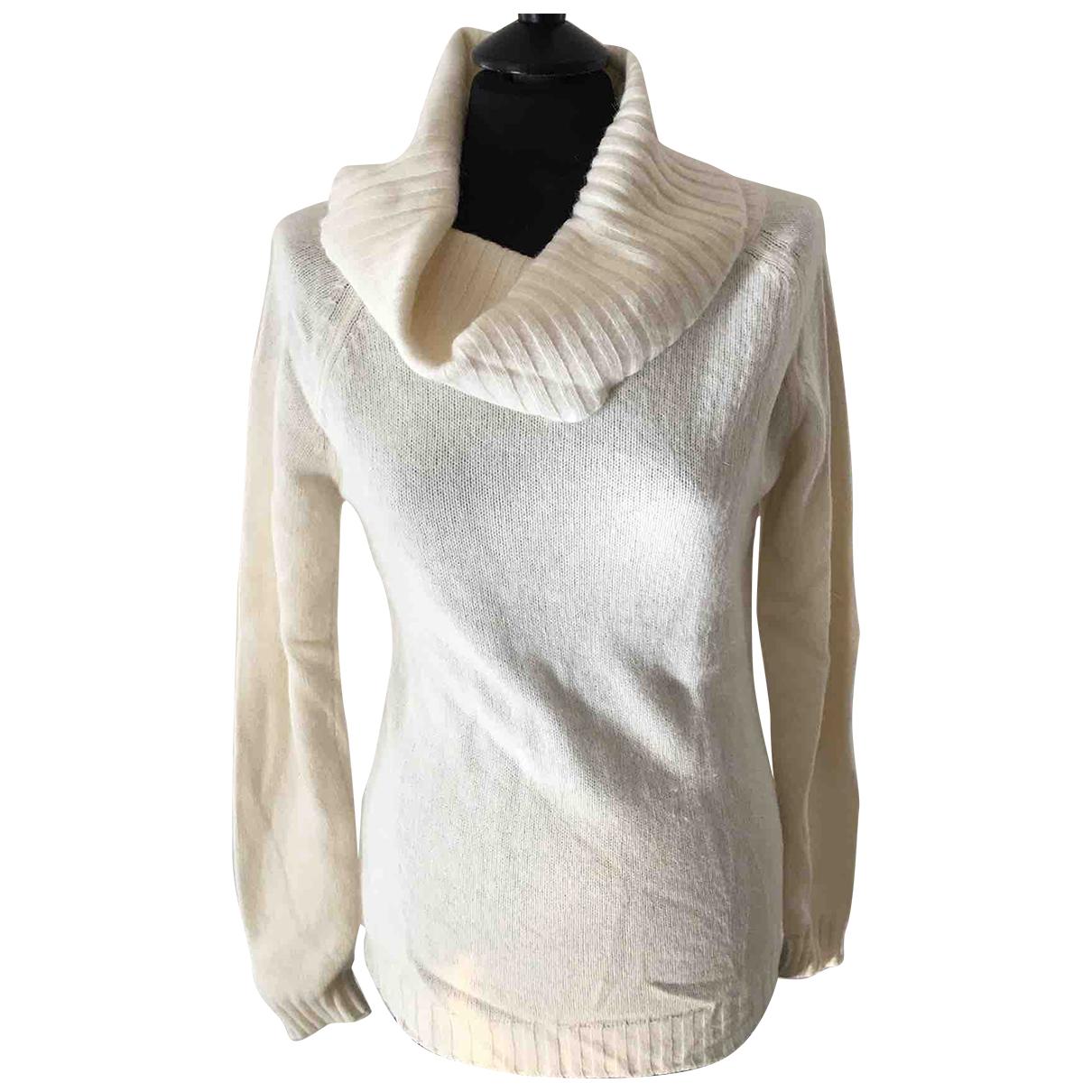 Autre Marque - Pull   pour femme en laine - blanc