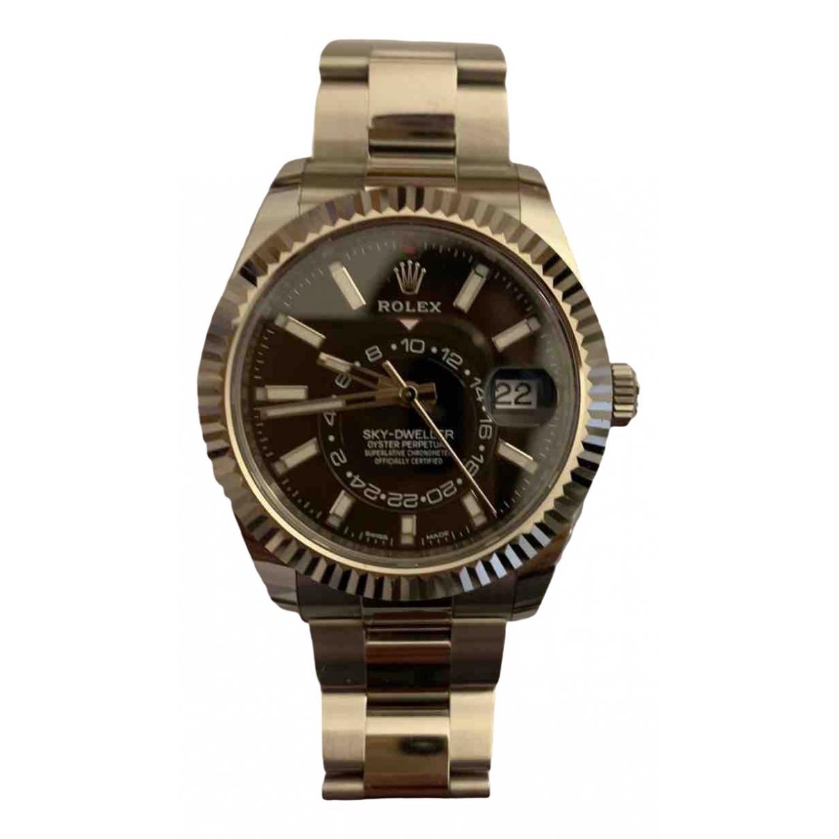 Rolex Sky-Dweller Black Steel watch for Men \N
