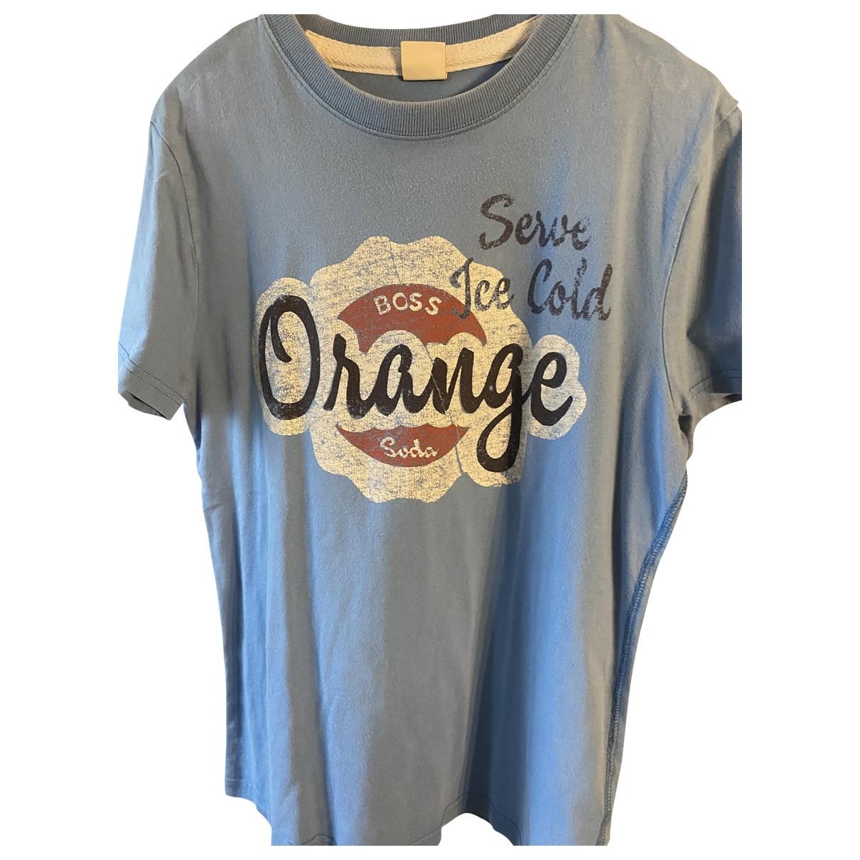 Boss Orange - Tee shirts   pour homme en autre - bleu