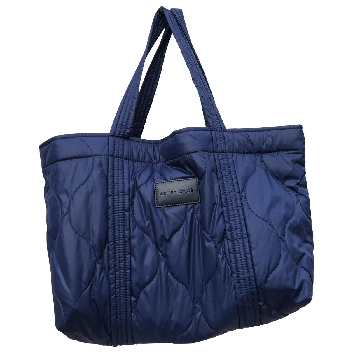See By Chloe \N Handtasche in  Blau Synthetik