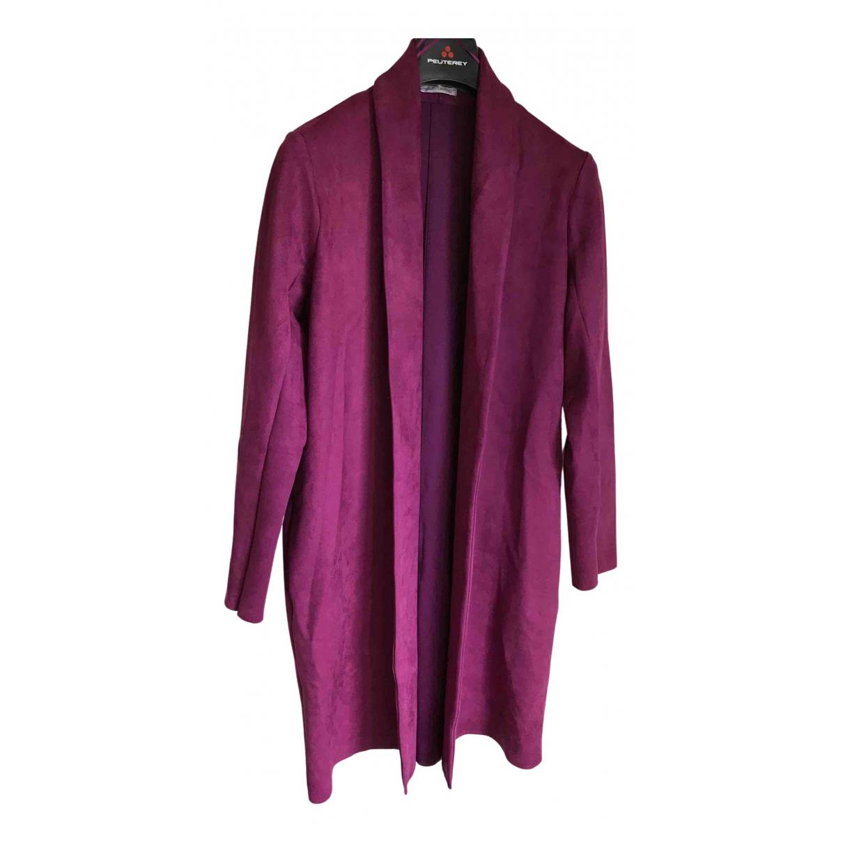 Zara - Manteau   pour femme - violet
