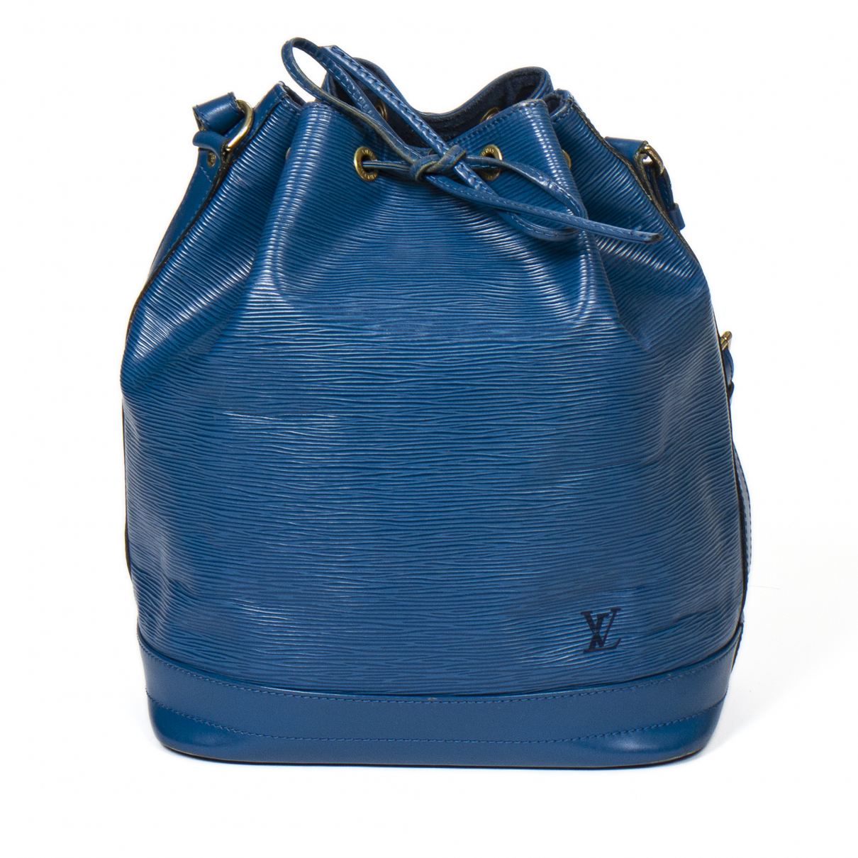 Louis Vuitton Noé Blue Leather handbag for Women \N