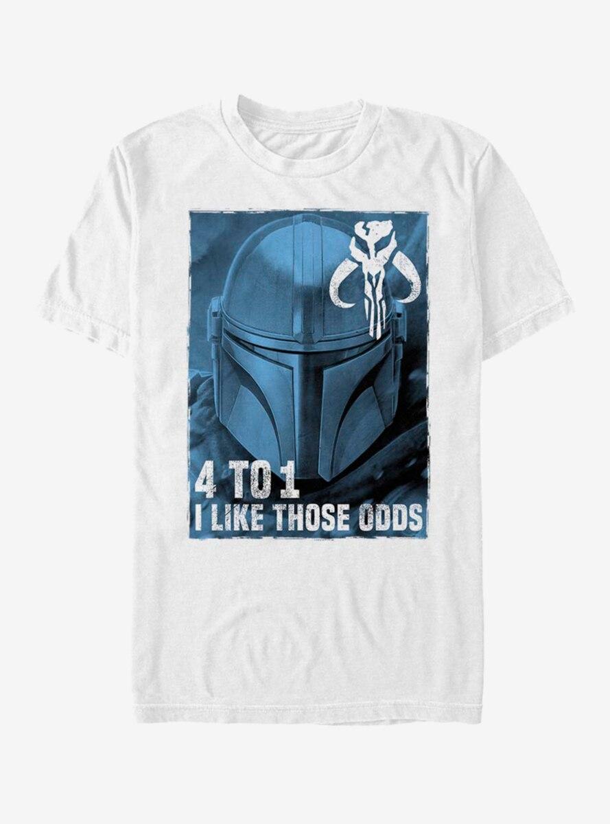 Star Wars The Mandalorian Good Odds T-Shirt