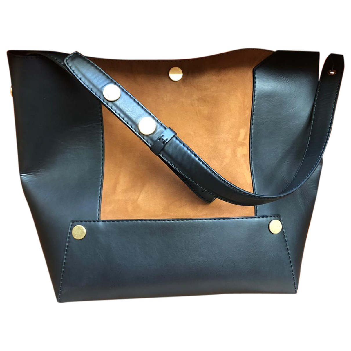Stella Mccartney \N Handtasche in  Schwarz Synthetik