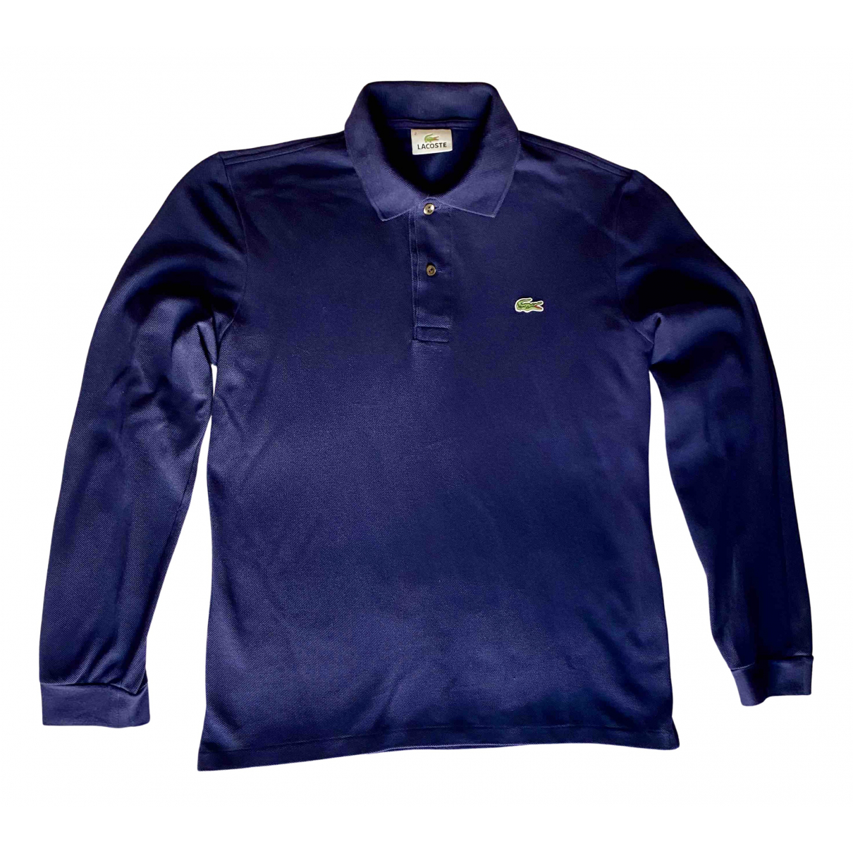 Lacoste - Polos   pour homme en coton - bleu