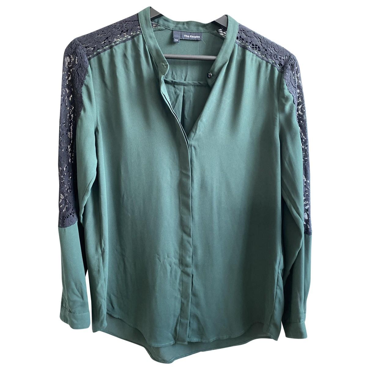The Kooples \N Top in  Gruen Polyester