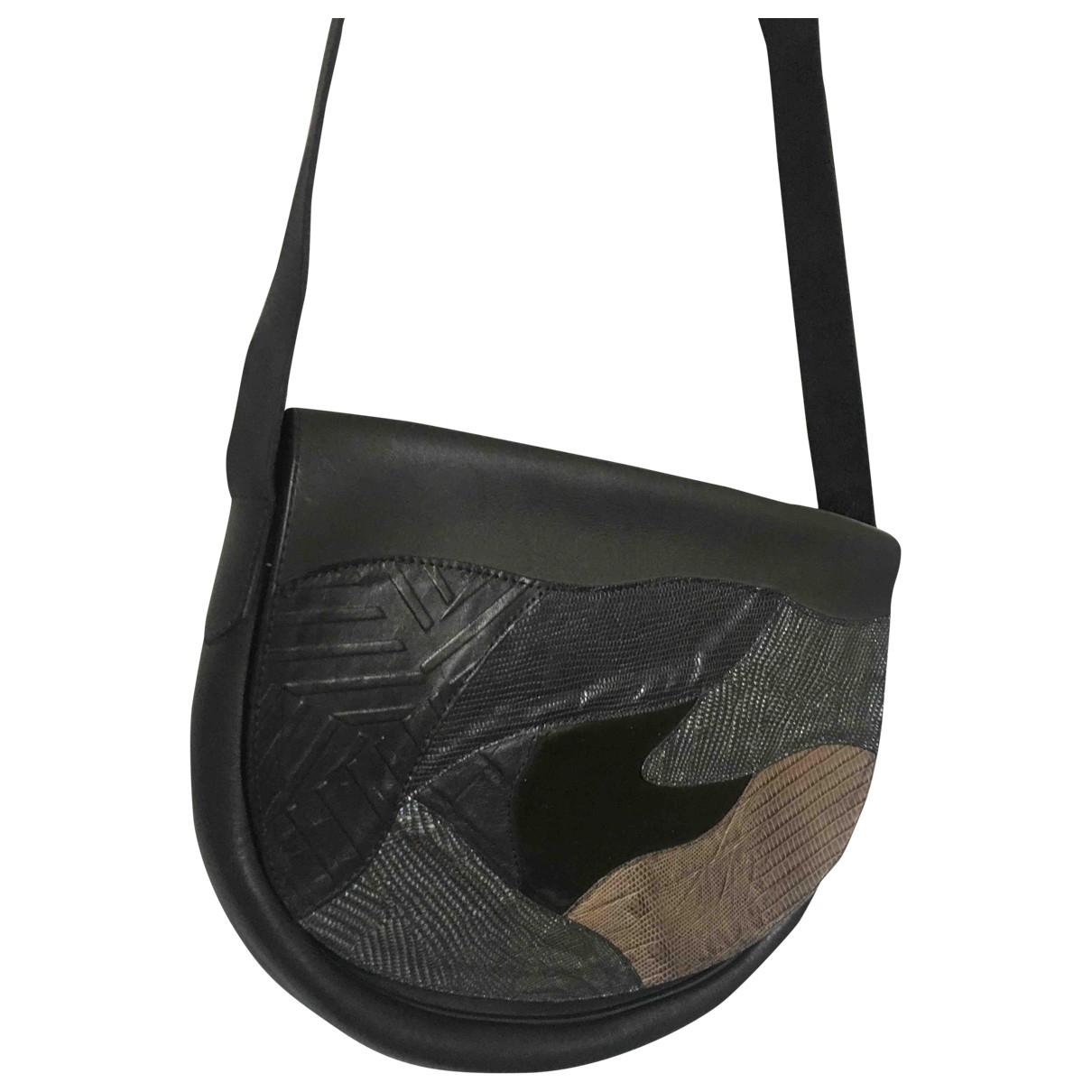Non Signe / Unsigned \N Handtasche in  Bunt Leder